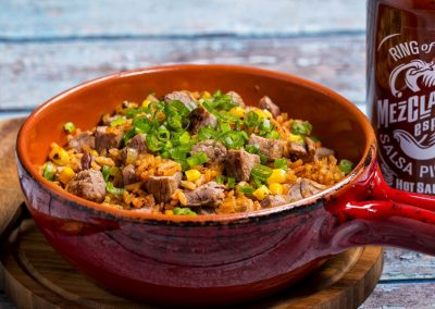 Mezclajete® Especial Spanish Rice with Steak