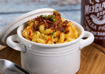 Mac & Cheese with Mezclajete® Especial Cheese Sauce
