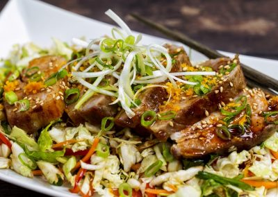 Mezclajete® Sweet & Spicy Pork Belly w/Asian Slaw